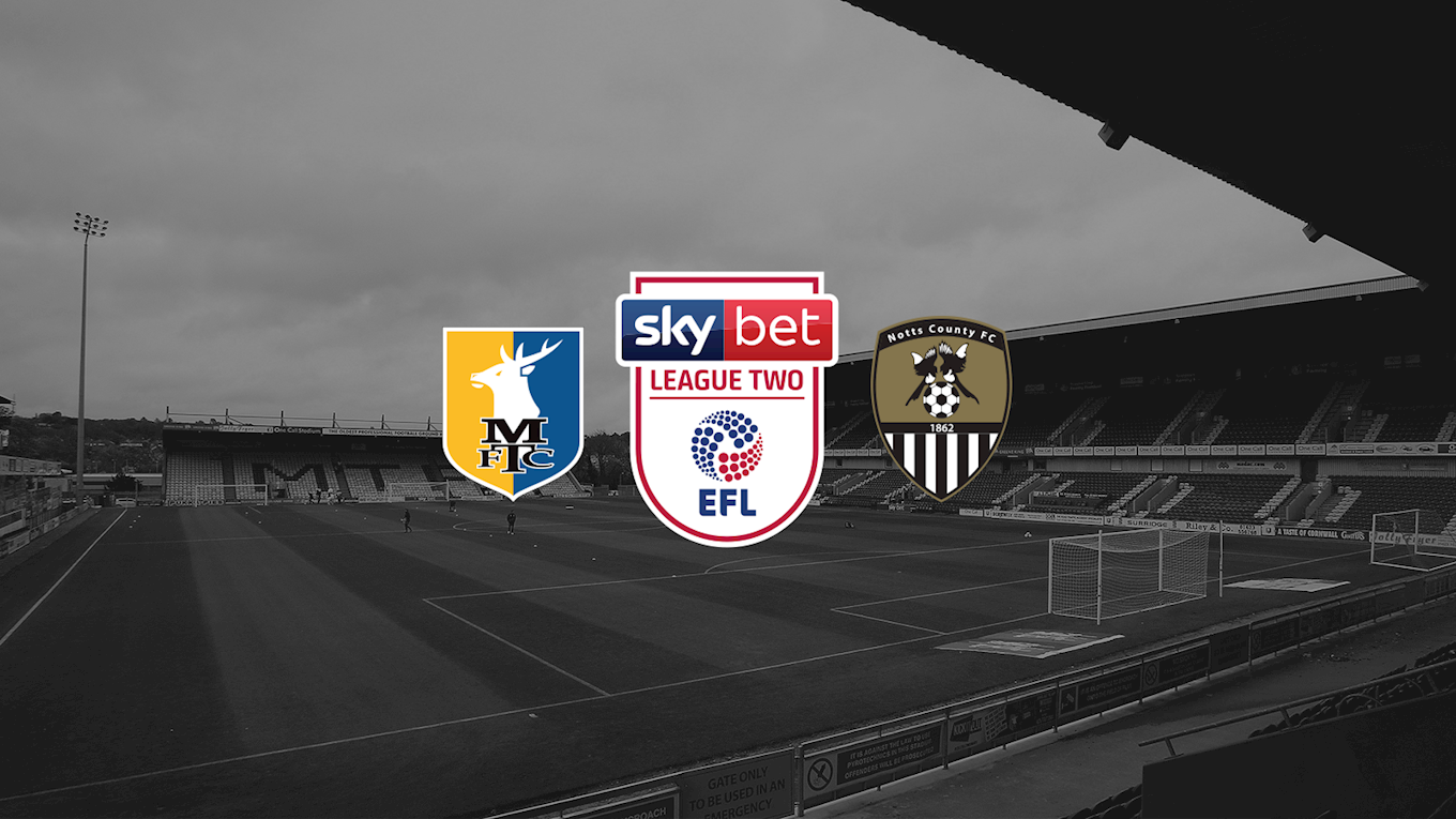 Mansfield off sale - News - Notts County FC