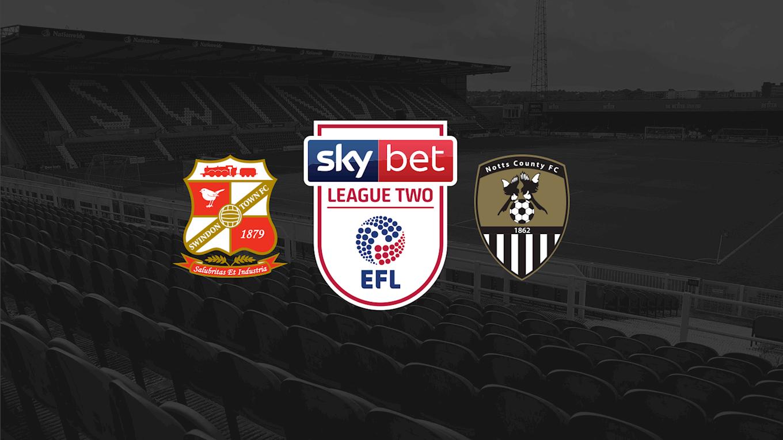 Swindon off sale - News - Notts County FC