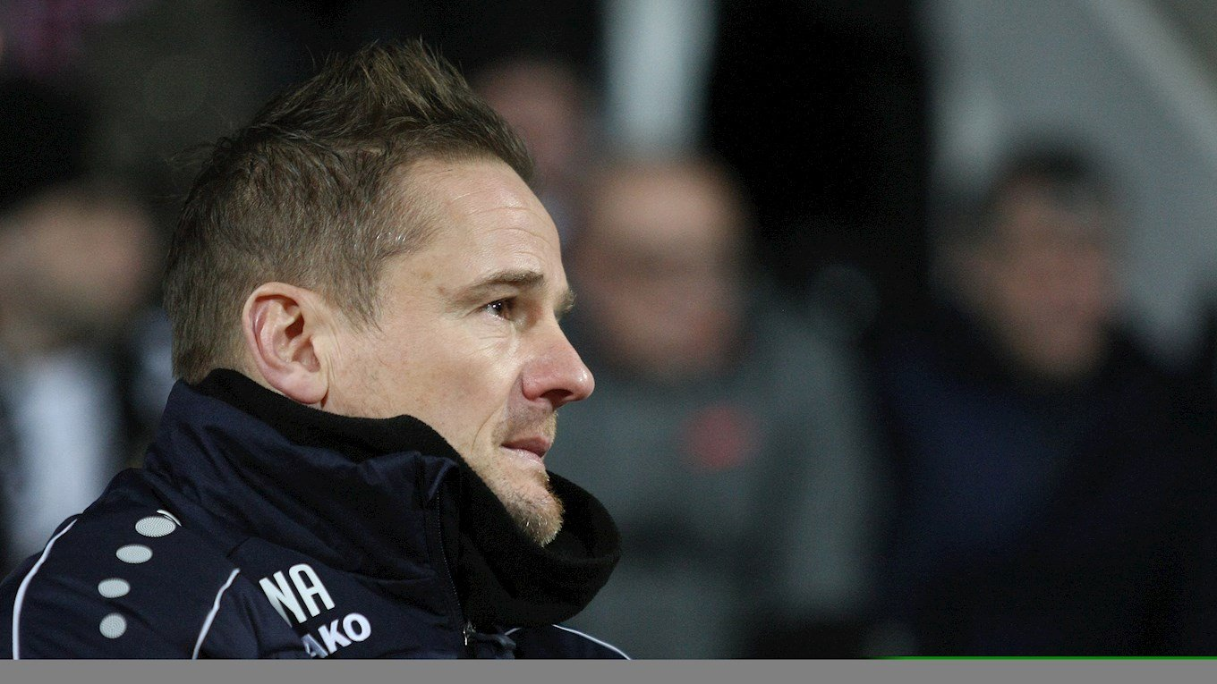 Notts boss Neal Ardley looks on from the sidelines..jpg