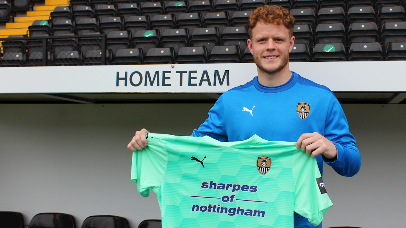 Pilling joins keeper ranks - News - Notts County FC