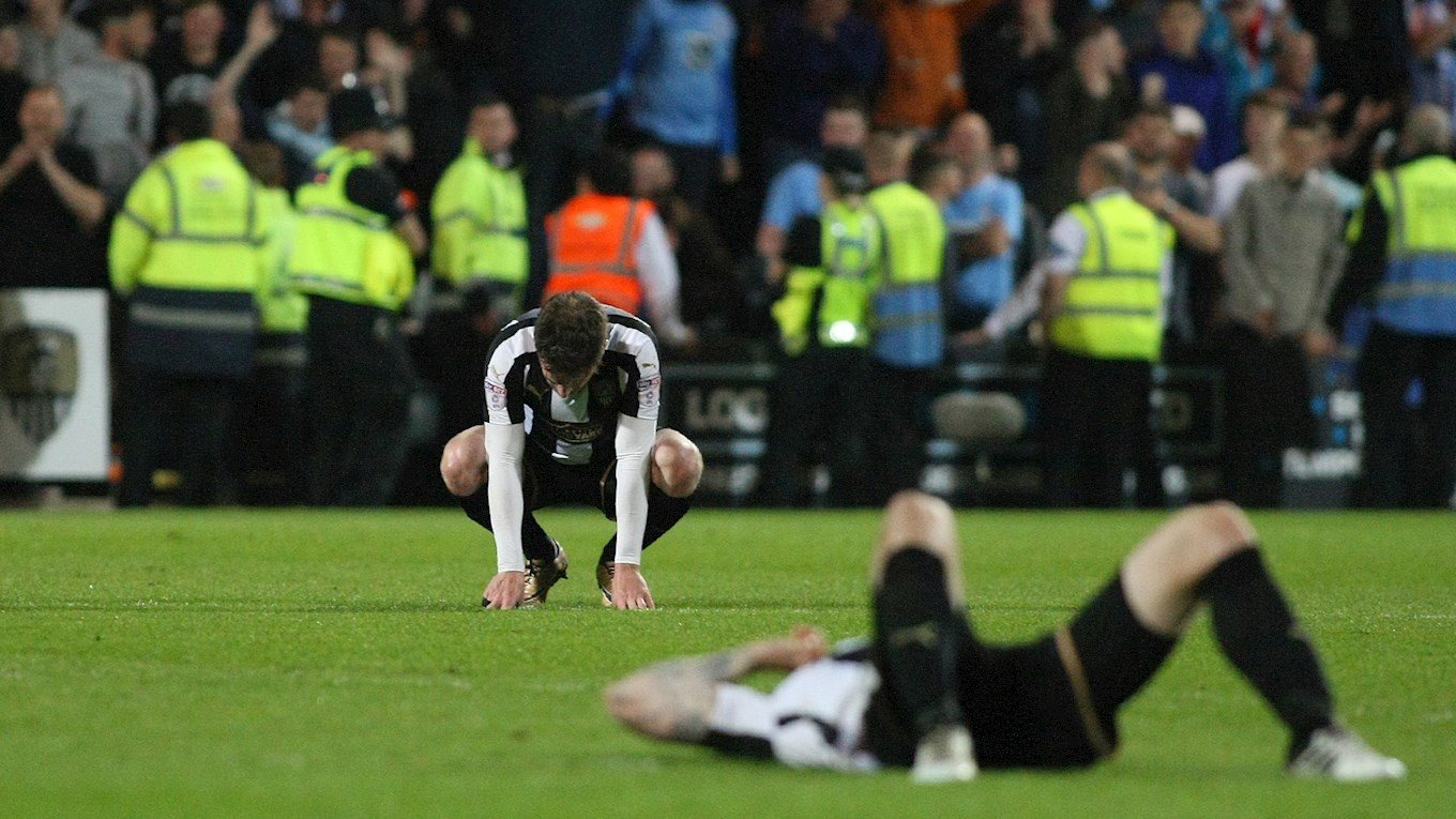 390170de06 Notts County were unable to end their season with a trip to Wembley as  Coventry became only the third team to win at Meadow Lane this season as  they ...