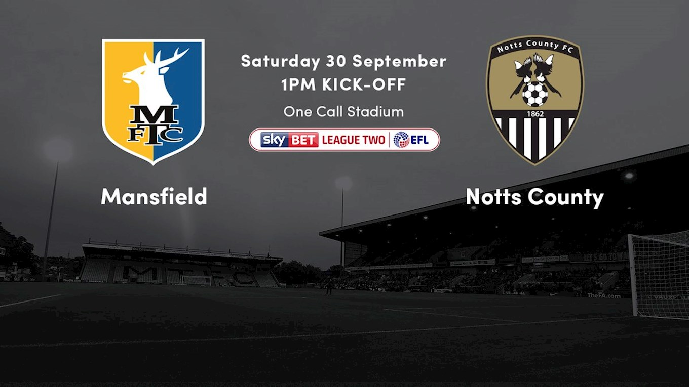Mansfield tickets sold out - News - Notts County FC