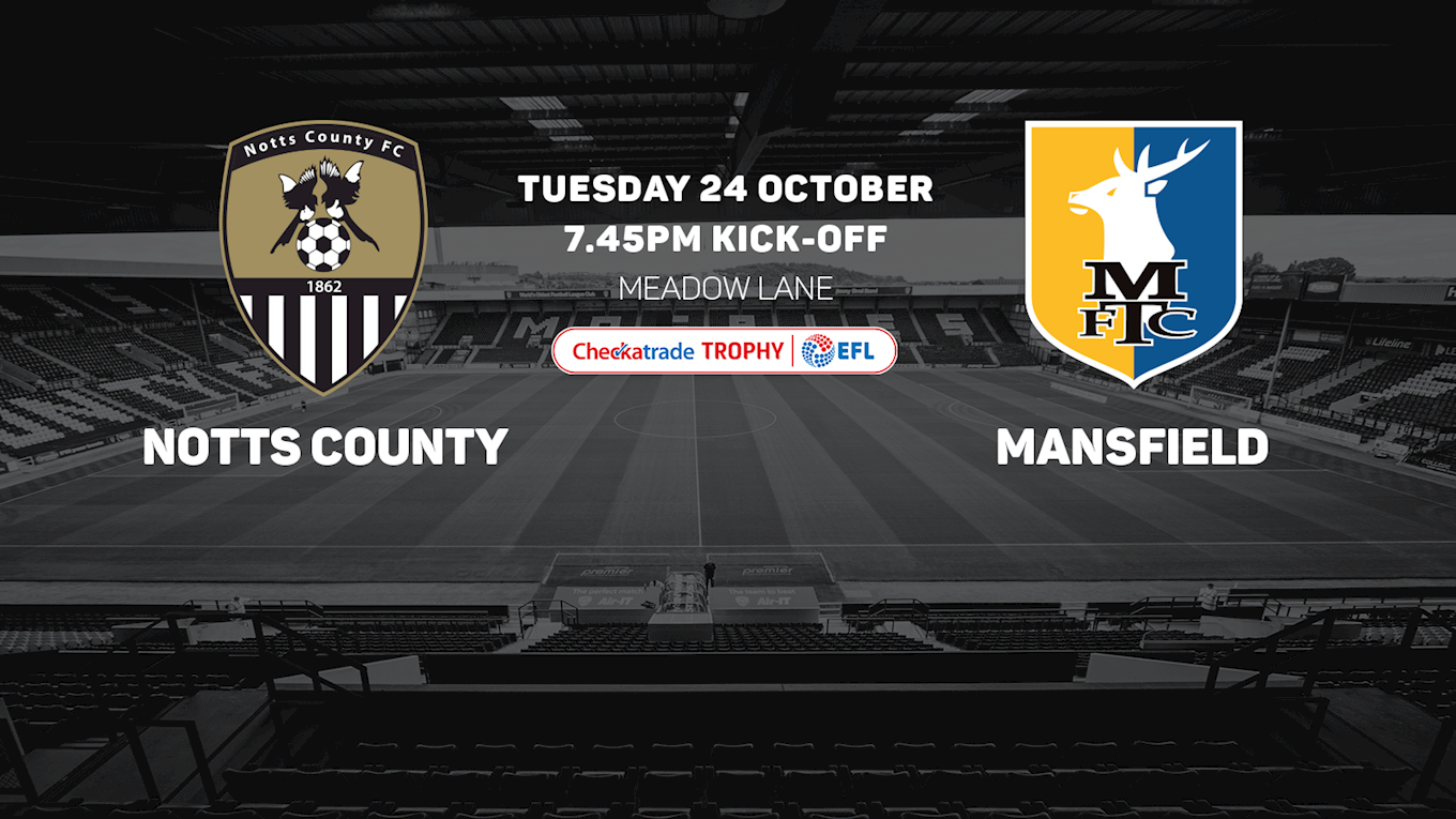 Tickets: Mansfield Town (H) - News - Notts County FC