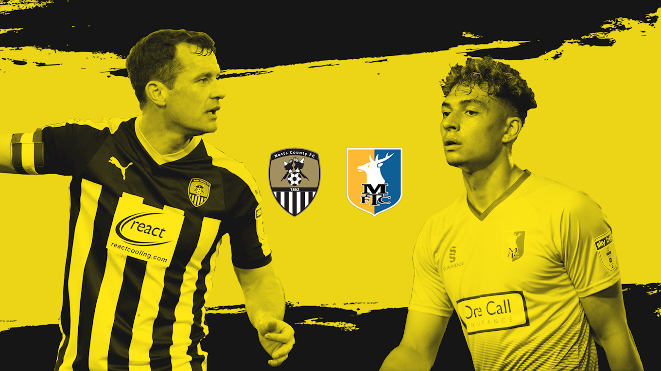 Preview: Mansfield (H) - News - Notts County FC